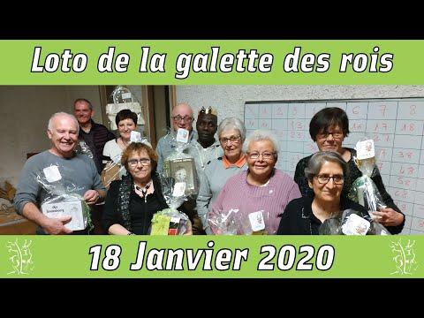 Loto de la galette des rois 2020