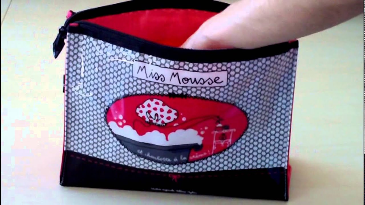 trousse de toilette femme miss chic youtube