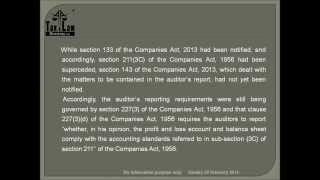 """Important Amendments to Auditor"