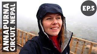 OUR FIRST SNOW BLIZZARD // Annapurna Circuit Trek EP5