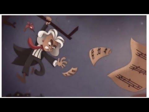 Google Doodle Ludwig van Beethoven's 245th Year Interactive Animation