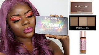 Trying New Makeup Products + Tammi X Revolution Tropical Carnival Palette | Dilias Empire.