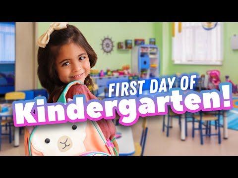 AVA'S FIRST DAY OF KINDERGARTEN! (Michelle cries!)