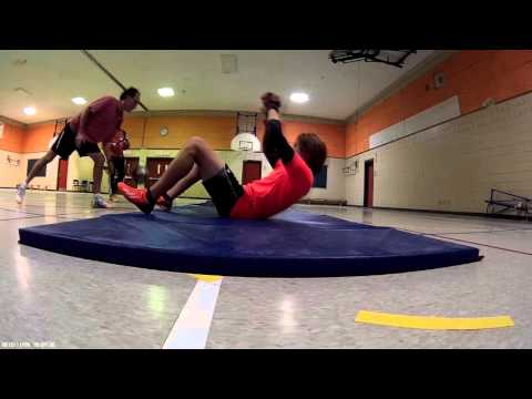 Goalkeeper training November 25 - Part 1
