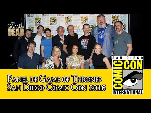Game of Thrones   Panel Comic Con 2016 (Subtitulado)