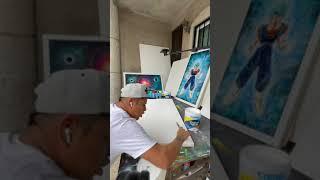 Preparando el lienzo con vinimex total comex
