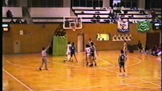 1994年12月2・3日 長野県高等学校新人バスケット 須坂高校vs松商
