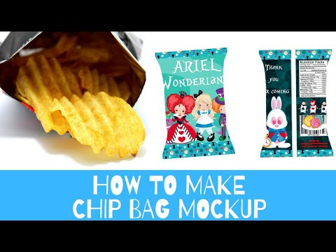Download How to Create Chip Bag Mockup Free without photoshop - YouTube Free Mockups