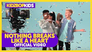 KIDZ BOP Kids - Nothing Breaks Like A Heart (Official Music Video)