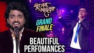 Sur Nava  Dhyas Nava   Grand Finale   Live Performances   Avdhoot Gupte, Shalmali, Mahesh Kale