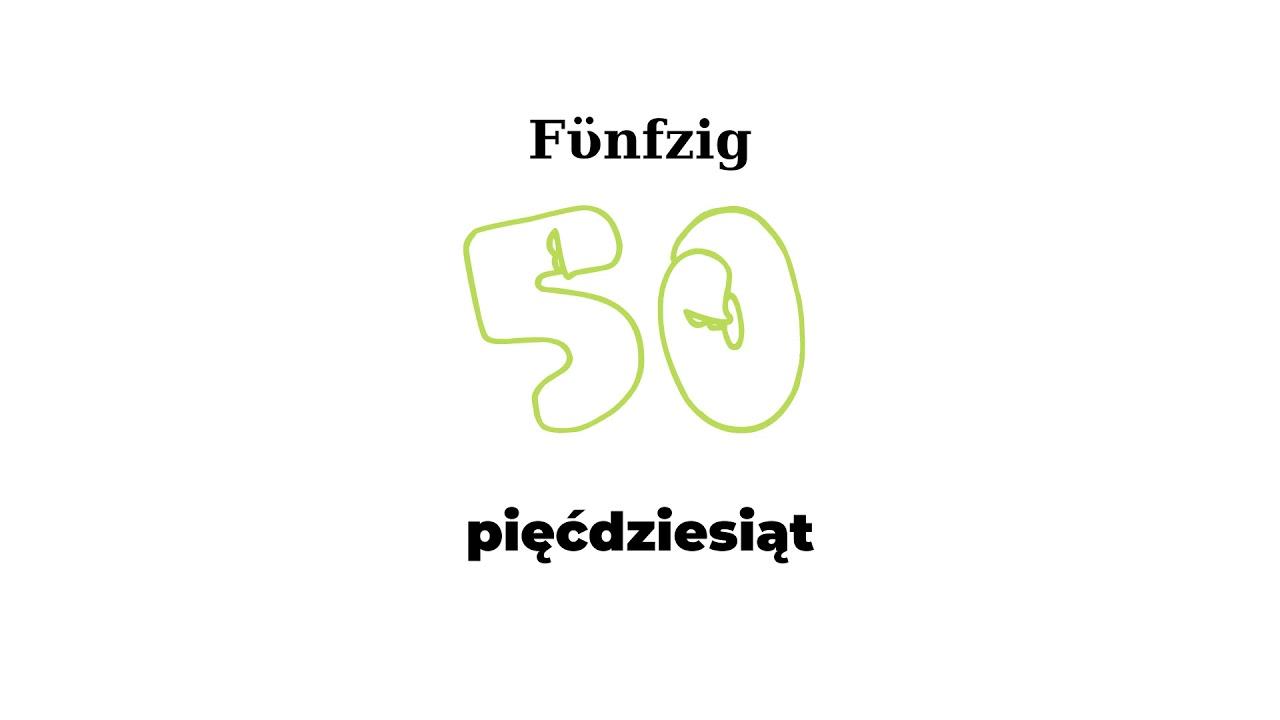 Zahlen Polnisch