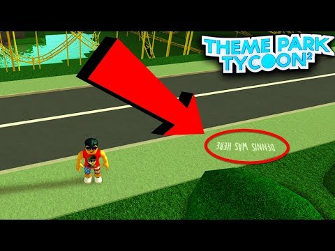 5 Secrets In Theme Park Tycoon 2 Roblox Youtube