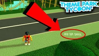 5 SECRETS in Theme Park Tycoon 2 (Roblox)