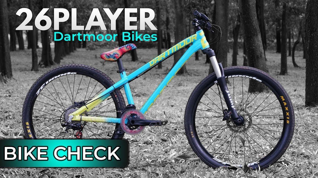 Mtb Rakitan Review Dan Bike Check Sepeda Mtb Dartmoor 26 Player Dirt Jump Dan 4x Youtube