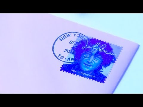 John Lennon honoured with postage stamp