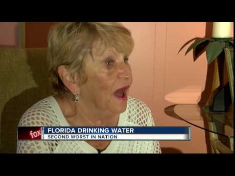 Florida Drinking Water Ranked 2nd Worst