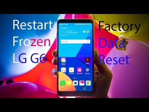 Reset Frozen LG G6