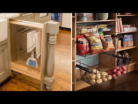 🌼 20 Clever Ways to Keep Your Kitchen Organized 🌼