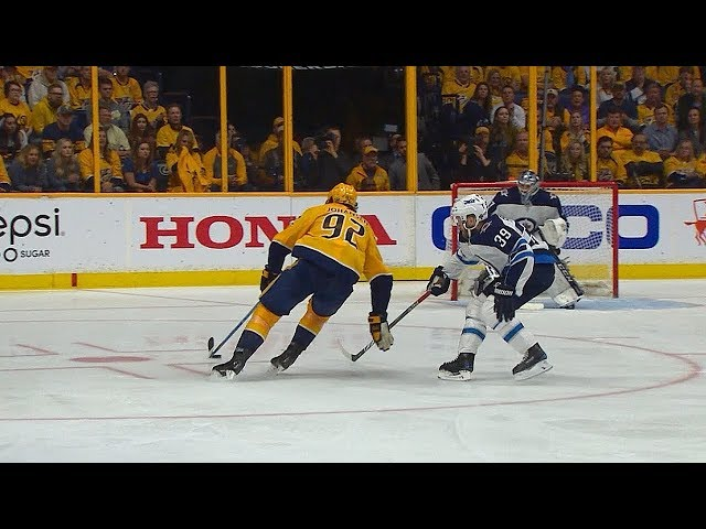 Ryan Johansen makes gorgeous move to roof home second goal