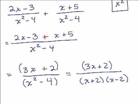 math worksheet : adding rational expressions worked solutions examples videos  : Addition Of Algebraic Expressions Worksheets