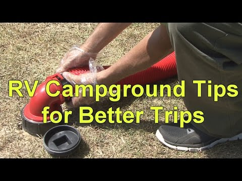 RV Campground Tips for Better Trips