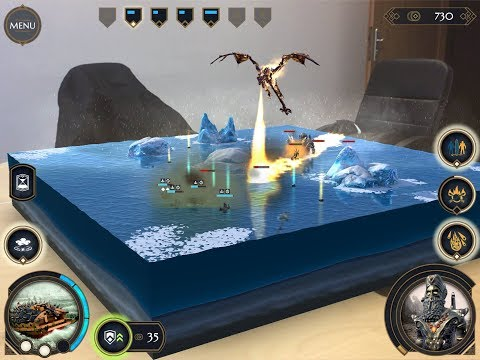 Gaming on  iPhone X -The Ancients AR