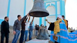 Для воссоздаваемого Казанского храма в Шексне митрополит Игнатий освятил колокола