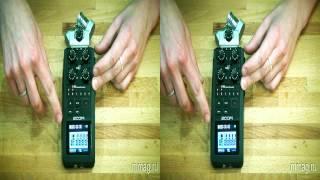 mmag.ru: Портативный аудио рекордер ZOOM H6 - видео обзор 3d