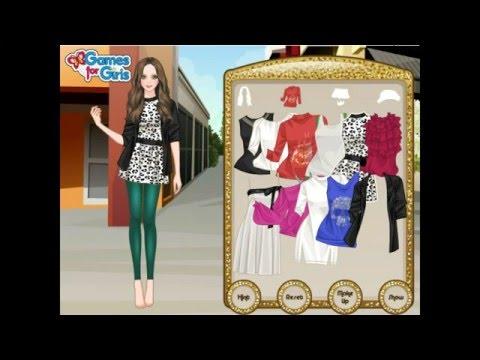 Bling Leggings Dress Up - Y8.com Online Games by malditha - YouTube