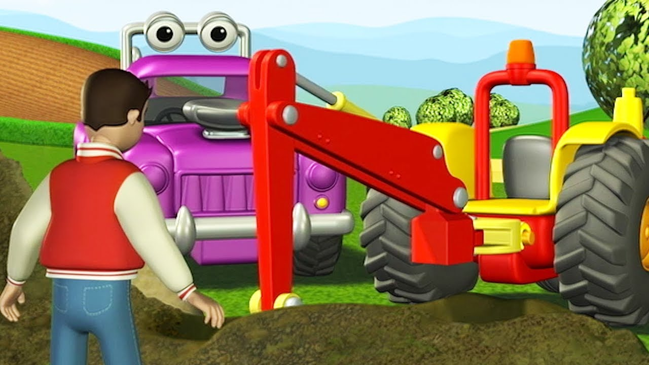 Tracteur tom la casse au tr sor dessin anime pour enfants tracteur pour enfants youtube - Tracteur tom dessin anime ...