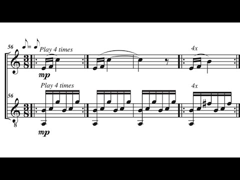 Paths- for alto flute and guitar (3rd mvmt), by David Bennett Thomas