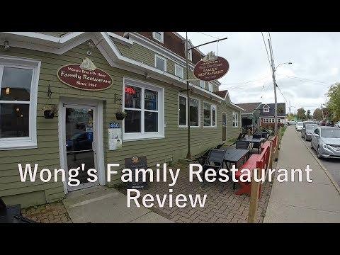 Wongs Family Restaurant | Review | Baddeck | Cape Breton Island | Nova Scotia | Canada