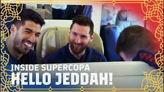 Supercopa, here we go! Trip to Jeddah | INSIDE SUPERCOPA #1