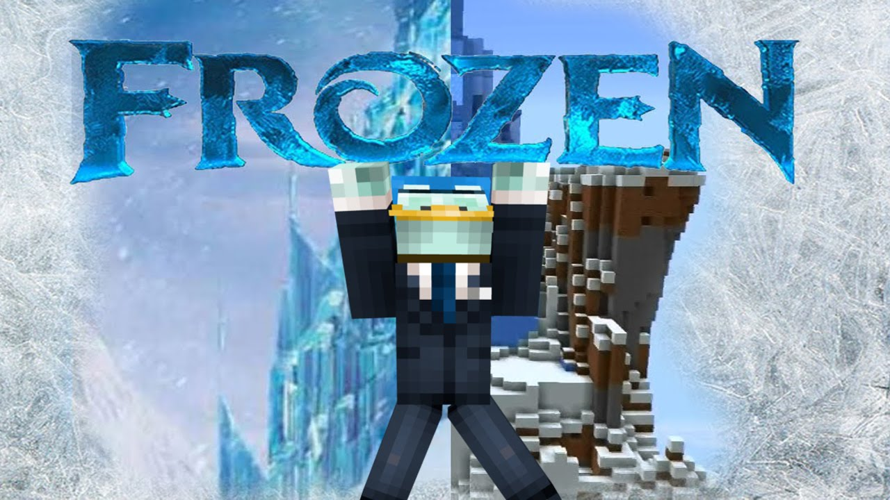 Frozen Kasteel In Minecraft Youtube