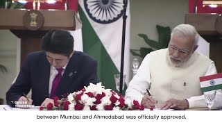 foreign media on Infrastructure with Japan High-speed rail project in India
