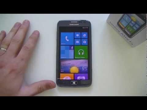 Test du Samsung ATIV S (GT-i8750) | par Top-For-Phone.fr