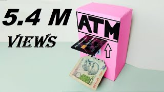 How to Make ATM Machine | Science Project for KIDS at Home | Made With Cardboard |