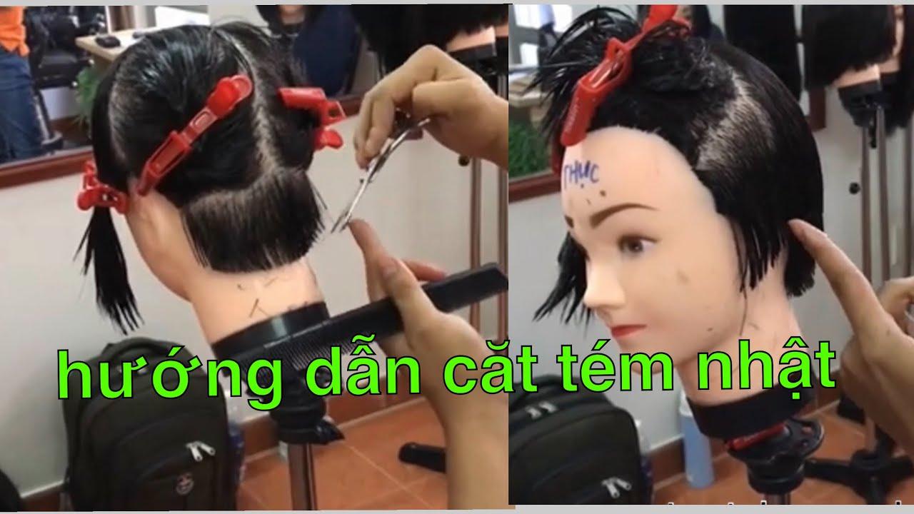 Hướng dẫn cắt tóc tém nhật