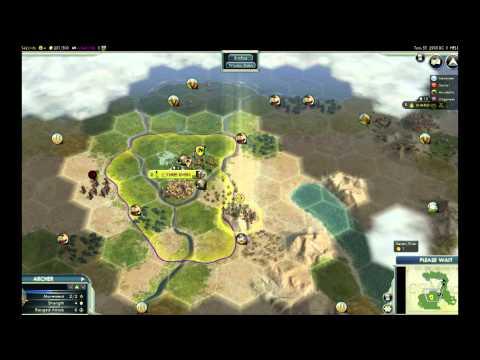 Lets play: Civilization V Wonders of the Ancient World DLC (EGYPT) part 3 |