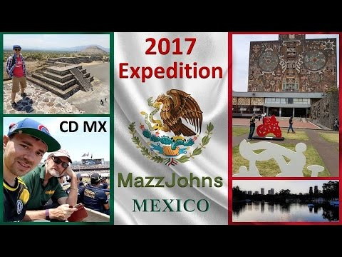 MazzJohn Expedition | Mexico City + Teotihuacan | 2017