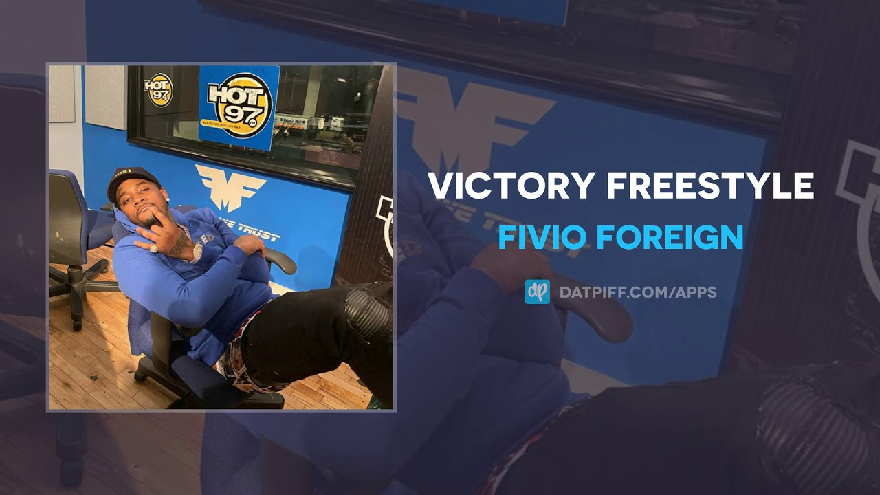 Fivio Foreign — Victory Freestyle (AUDIO)
