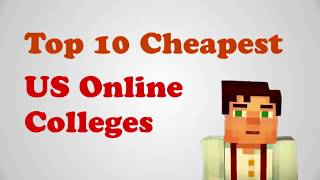 Cheap Colleges - Cheapest colleges in USA. Affordable college online list