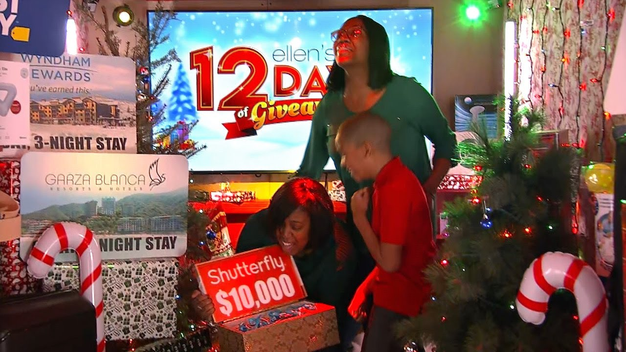 Ellen Shocks Single Mom with All the Gifts from 12 Days of Giveaways!