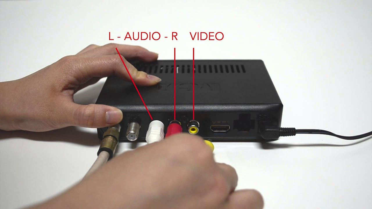 Rca Dta880 Connection Instructions Youtube