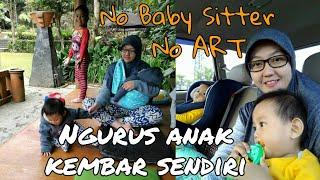 Ibu Muda! MENGURUS BAYI KEMBAR SENDIRI tanpa ART tanpa baby sitter