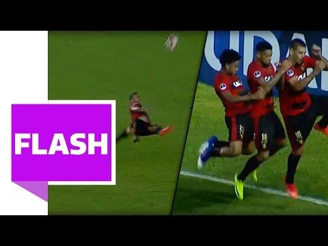 Triple-Fallrückzieher!   Wahnsinns-Tor in der Copa Südamerika