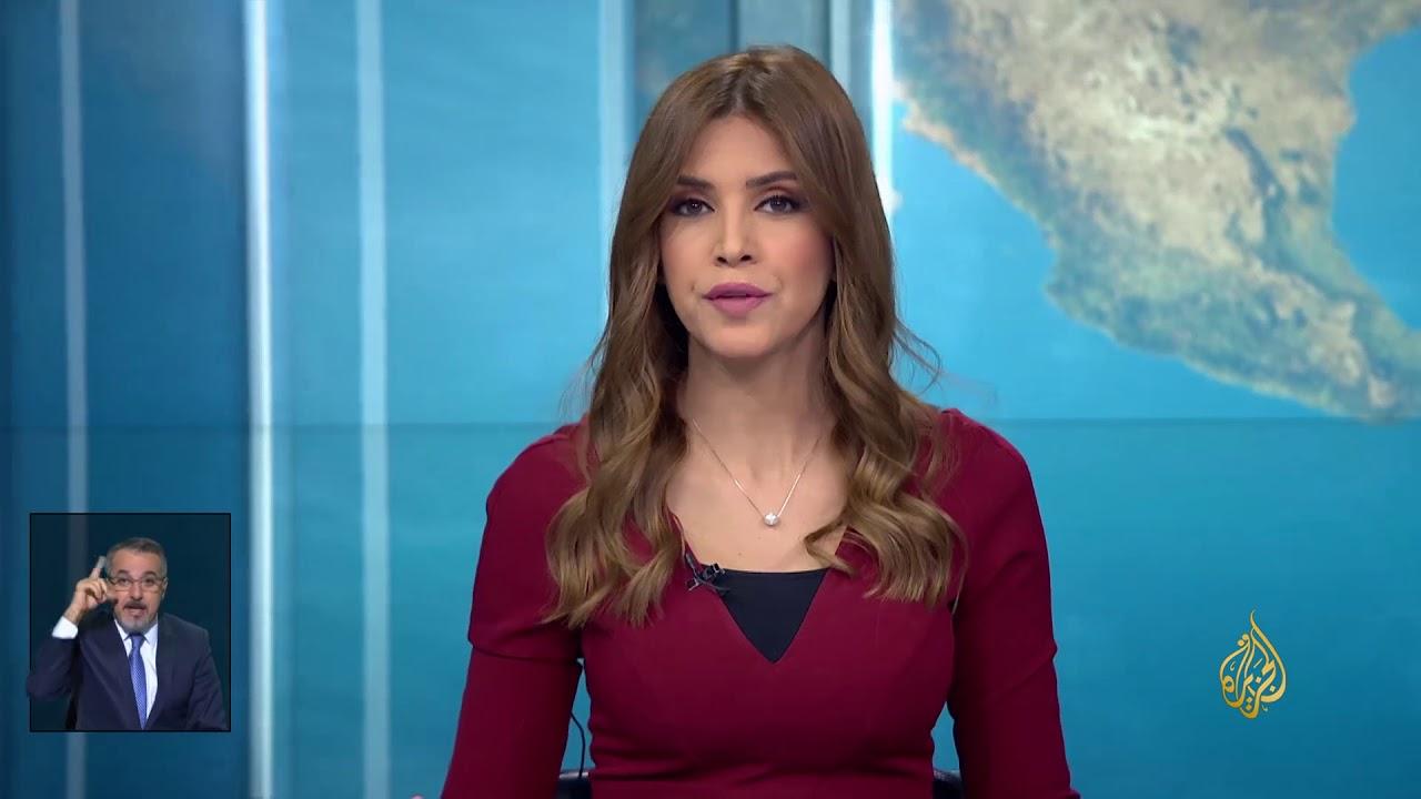 الجزيرة:نشرة الإشارة الأولى 2018/2/19