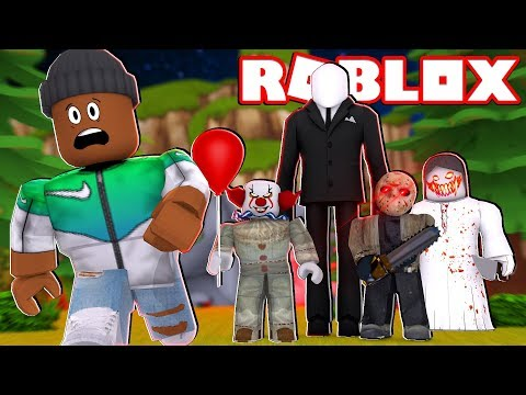LOST IN THE WOODS | Roblox Horror Roleplay