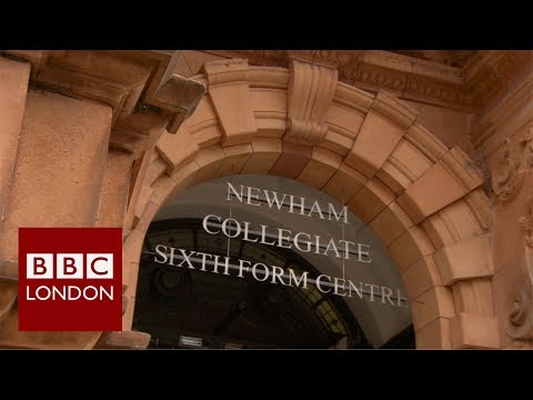 The high-flying city lawyer's sixth form college – BBC London News