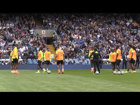 Chelsea Players Train At Stamford Bridge Ahead Of The New Premier League Season